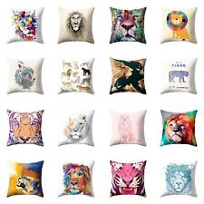 18'' Animal Lion Throw Pillow Case Pillow Cover Cushion Cover Home Decor Ardent