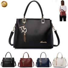 Women's PU Leather Handbag Leisure Messenger Shoulder Satchel Bag Purse Tote Hot