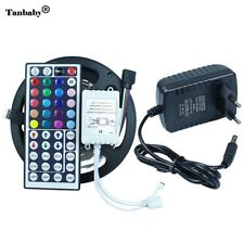 150leds/5M SMD5050RGB LED Strip Flexible Diode Tape 12V Ribbon Led strip+44 keys