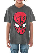 Spiderman Pixelated Youth Boys T-Shirt