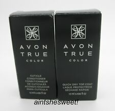 AVON True Color Nail Care - Cuticle Conditioner OR Quick Dry Top Coat