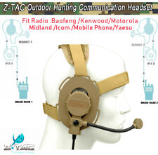 Z-tactical Bowman Evo III Military Headset For Hunting Paintball Sports