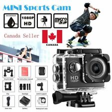 "12M Full HD 1080P 2.0"" Sports Digital DV Waterproof Action Camera Cam CA"