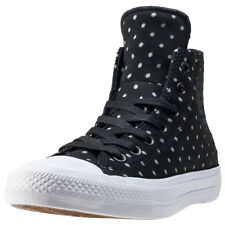 Converse Ct Allstar Ii Hi Shield Womens Black Canvas Casual Trainers Lace-up