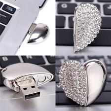 Metal Jewelry Love USB2.0 Flash Memory Stick Pen Drive Disks For Computers^Gifts
