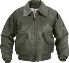 Sage Green Tactical US Air Force CWU-45P Cold Weather Flight Jacket