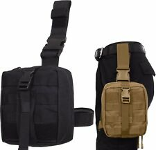 MOLLE Tactical Drop Leg EMT Medical Supply Pouch