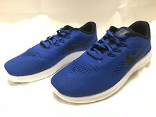 Nike Free RN GS Run Blue Black Kids Youth Running Shoes Sneakers 833989-401