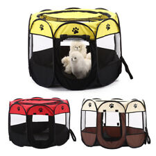 Foldable Pet Carrier Bag Travel Tote Soft-sided Dog Cat Crate Kennel House