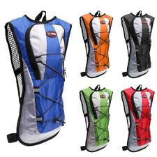 Portable Hydration Backpack Pack w/ 2L Water Bladder Bag Hiking Camping Cycling