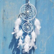 Handmade Wall Hanging Decoration Ornament Craft Gift Dream Catcher With Feathers
