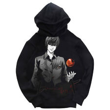 Anime DEATH NOTE Yagami Light Coat Unisex Hoodie Jacket Sweater Cosplay Pullover
