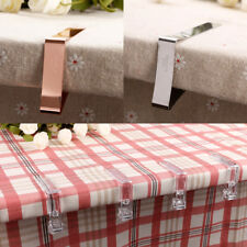 Board Wedding Picnic Table Cover Tablecloth Clamp Holder Clip Stainless Steel