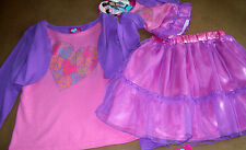 """WHAT A DOLL 2P SKIRT OUTFIT ++ matching outfit for 18"""" DOLL fits AMERICAN GIRL"""
