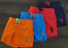 NWT Ralph Lauren Polo Boys Sanibel Big Pony Swim Trunk Suit Sz 4 5 6 7 NEW $45