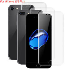 Front & Back Clear Full Cover Screen Protector Soft TPU For iPhone 8/8Plus Lot