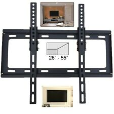TILT FLAT TV WALL BRACKET MOUNT PLASMA LED LCD 3D 26 32 34 37 40 42 46 48 50 55