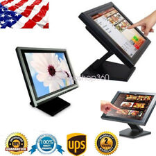 """POS 15"""" Touch Screen LED Stand TouchScreen Monitor Retail Kiosk Restaurant Cafe"""