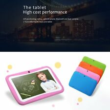 "7"" 8GB Android 5.1 Quad Core Camera WIFI Tablet For Kids Bundle Case Gift Xmas L"