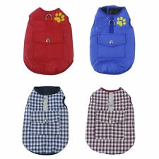 Thickened Dog Jacket Comfortable Cotton Dog Coat Autumn Winter Puppy Clothes LN