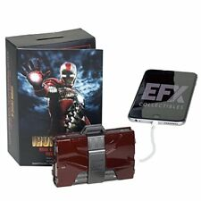 eFx Iron Man Mark V Armor Suitcase Mobile Battery Charger (1/4 Scale), Red/Grey