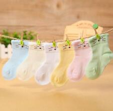 Cute Baby Kids Cotton Sock Lace Hollow Mesh Socks 0-2Years New