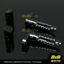 FOR Triumph Speed Triple 955I 2000-2004 Multi Step Adjustable Rear Foot Pegs