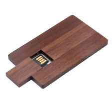 Walnut Wooden Card USB2.0 High Speed Flash Drive Memory Stick U for Computer