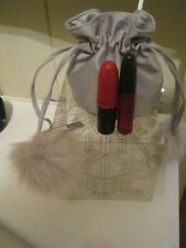 NEW MAC LIMITED SNOW BALL HOLIDAY 2017 EXCLUSIVE ITALY SHADESCENT PURSE RUBY WOO