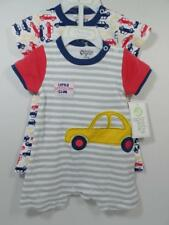 New Boy's Baby Gear Embellished 2 Pc CARS Romper Set, Sz 3-6 Months, 6-9 Months