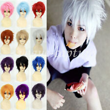 Unisex Hinata Cosplay Hair Wig Short Halloween Anime Party Fancy Style Full Wigs