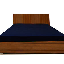 """1000TC Egyptian Cotton UpTo 30"""" Inch Deep Pocket Fitted Sheet All Size Navy Blue"""