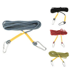 33ft/66ft Rock Climbing Tree Carving Rappelling Abseiling Cord Rescue Rope