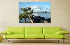 Canvas Poster Wall Art Print Decor Seattle Washington Usa Skyline