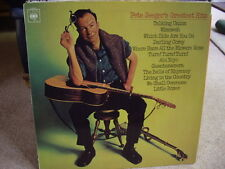 PETE SEEGER - GREATEST HITS , CBS 1967 , EX/VG ,LP