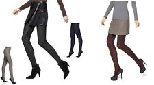 Hue Womens Flat Knit Sweater Tights Graphite /Navy/ Black/Espresso S/M, M/L