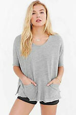 NWOT Truly Madly Deeply Double Pocket Sweatshirt Top fr Urban Outfitters