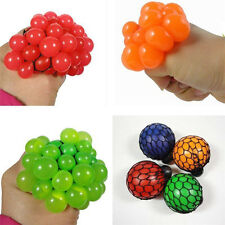 Funny Anti Stress Face Reliever Grape Ball Autism Mood Squeeze Relief ADHD Toy