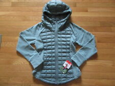 NORTH FACE WOMENS ENDEAVOR THERMOBALL JACKET, BALSAM GREEN, NWT, S