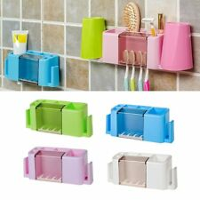 Multifunctional Toothpaste and Toothbrush Holder Creative Organizer Box FK