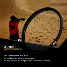Zomei 40.5/49/52/55/58/62/67/72/77/82mm Camera MCUV Filter Protecting Lens MU