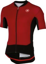 Castelli Superleggera Cycling Jersey Red Size S-XL -lightest jersey in the world