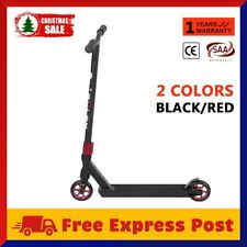 Deluxe Scooter Black Scooter Commuter Scooter Adult Kids Christmas BLACK/RED