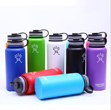 18oz-32oz-40oz-Hydro-Flask-Insulated-Stainless-Steel-Water-Bottle-Wide-Mouth