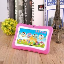 "7"" Quad Core HD Tablet Bundle for Kids Android Kitoch Camera WiFi Lot LZ"
