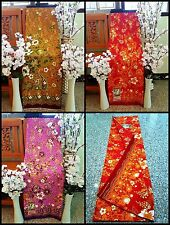 Thai Sarong Fabric Batik Floral Multi-Color  (Discount for New Year)
