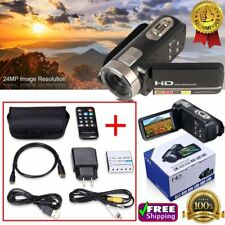 24MP 3.0'' HD 1080P LCD Touch Screen Digital Video Camera Camcorder DV 16X Zoom!