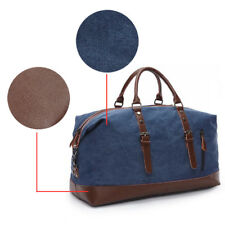1 Pcs Canvas Travel Bags Large Weekend Bag Carry on Luggage Bags Travel Tote