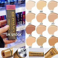 FREE P&P DERMACOL FILM STUDIO LEGENDARY HIGH COVERING FOUNDATION HYPOALLERGENIC