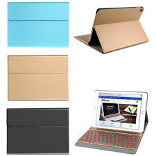 "Wireless Bluetooth Keyboard Fold PU Leather Case Cover for iPad Pro 9.7""/Air 2"